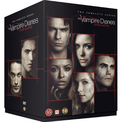 dvd sales uk the vampire diaries complete series 1-8 box set