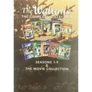 dvd sales uk the waltons complete series 1-9 box set