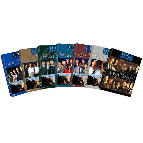 dvd sales uk the west wing complete series 1-7 box set