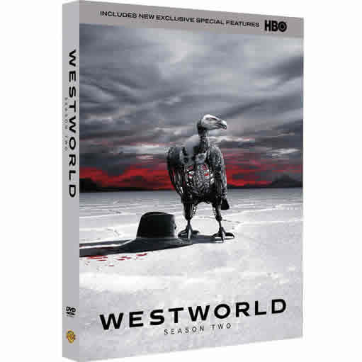 DVD sales uk westworld season 2