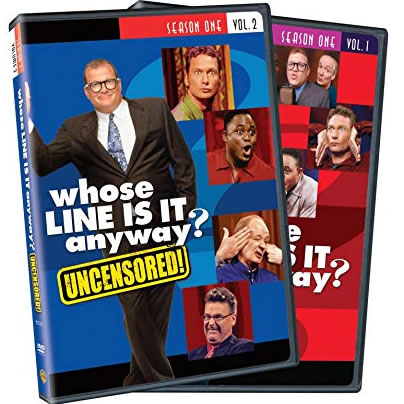 DVD sales uk whose line is it anyway season 1 vol. 1 and 2