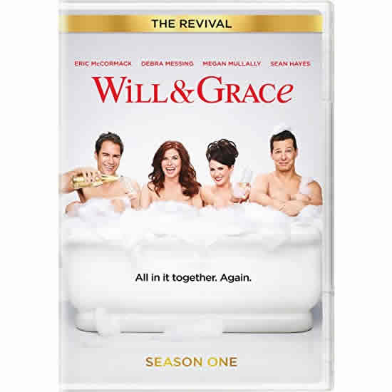 DVD sales uk will & grace - the revival season 1