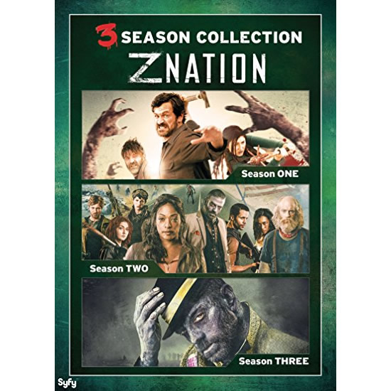 dvd sales uk z nation complete series 1-3 box set