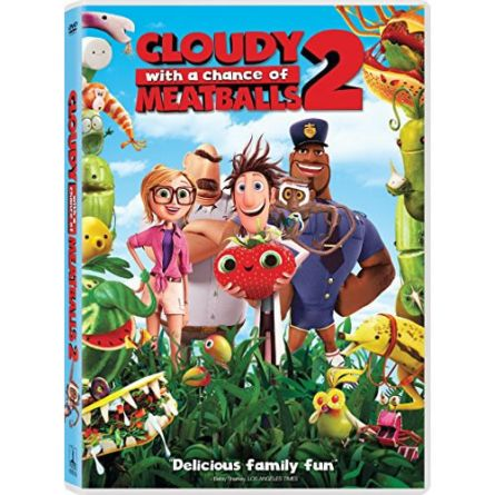 anime dvd uk cloudy with a chance of meatballs 2