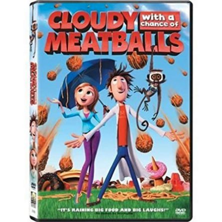 anime dvd uk cloudy with a chance of meatballs