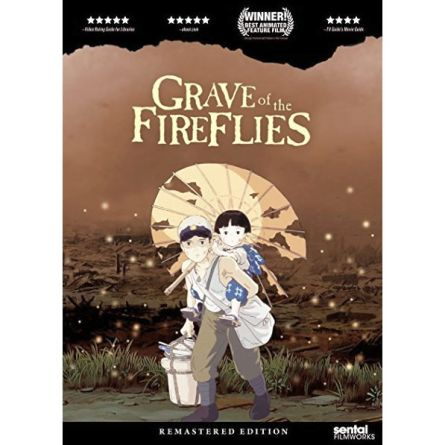 anime dvd uk grave of the fireflies