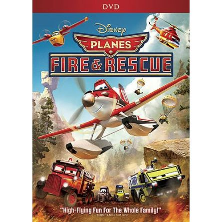 anime dvd uk planes fire and rescue