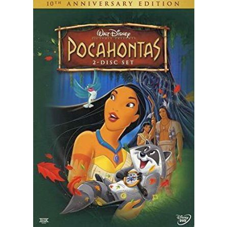 anime dvd uk pocahontas