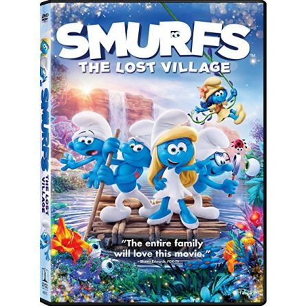 anime dvd uk smurfs the lost village