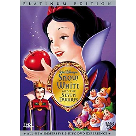 anime dvd uk snow white and the seven dwarfs platinum edition