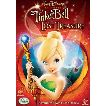 anime dvd uk tinker bell the lost treasure