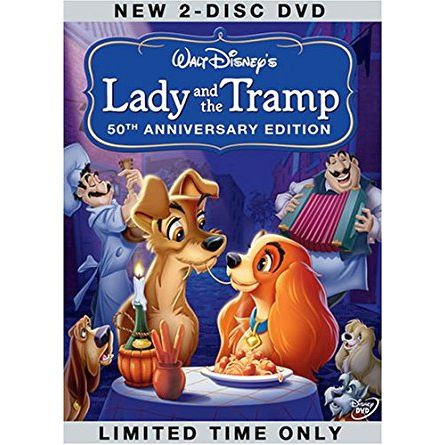 anime dvd uk lady and the tramp