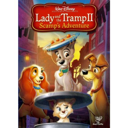 anime dvd uk lady the tramp ii scamps adventure