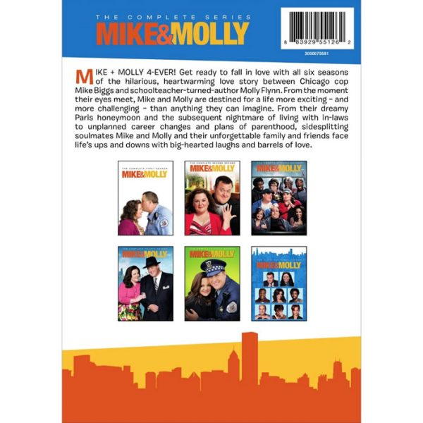 mike and molly complete series 1-6 dvd boxset