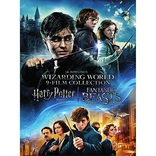 wizarding-world-9-film-collection-dvd