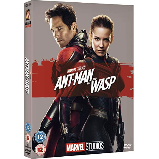 dvd sales uk ant-man and the wasp on dvd