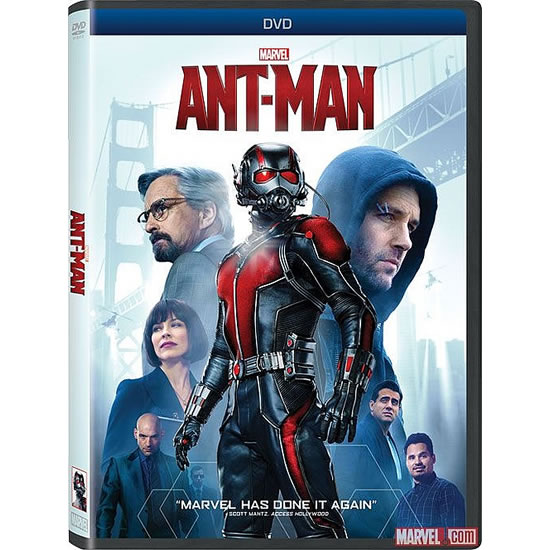 dvd sales uk ant-man on dvd