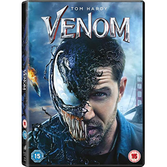 dvd sales uk venom on dvd