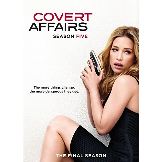 DVD sales uk covert affairs season 5