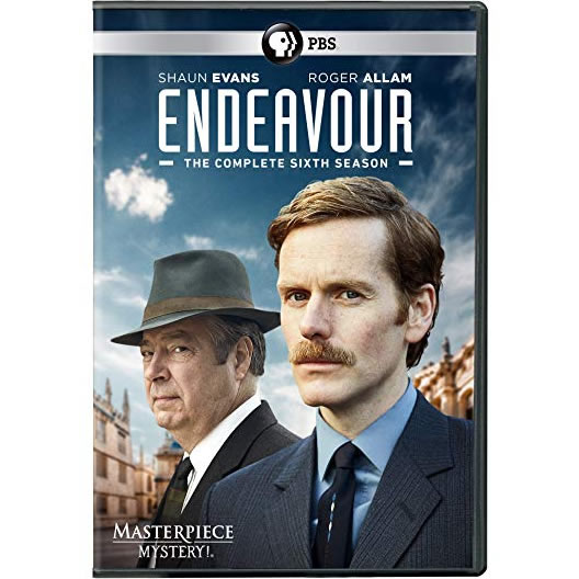 DVD sales uk endeavour season 6