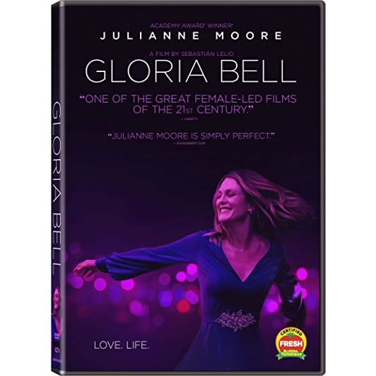 dvd sales uk gloria bell on dvd