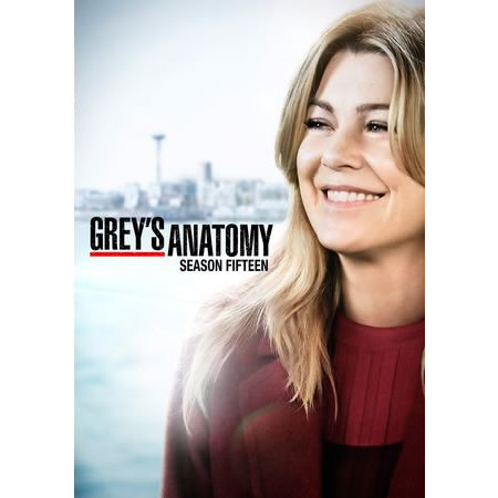 DVD sales uk grey's anatomy season 15