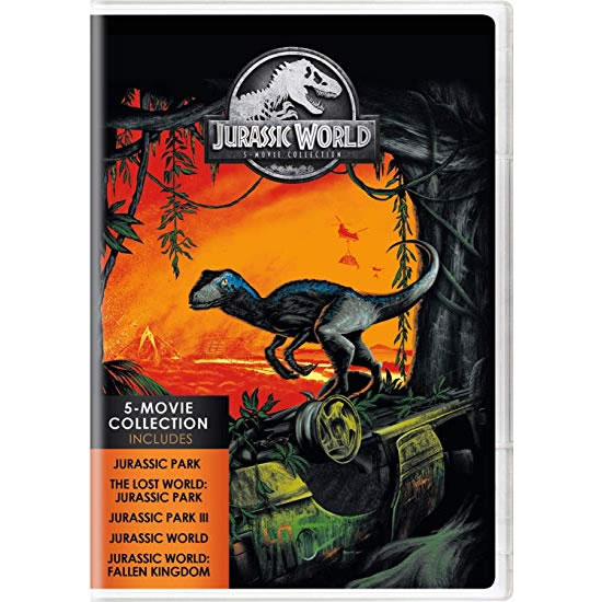 dvd sales uk jurassic world 5-movie collection on dvd