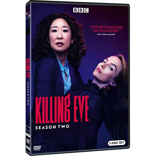 DVD sales uk killing eve season 2