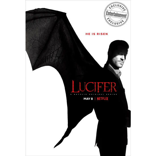 DVD sales uk lucifer season 4