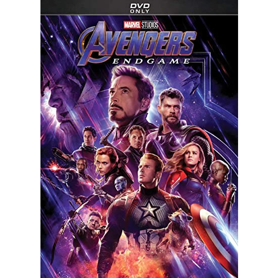 dvd sales uk marvel studios' avengers: endgame on dvd