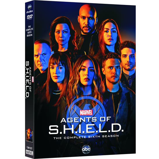 DVD sales uk marvel's agents of shield season 6