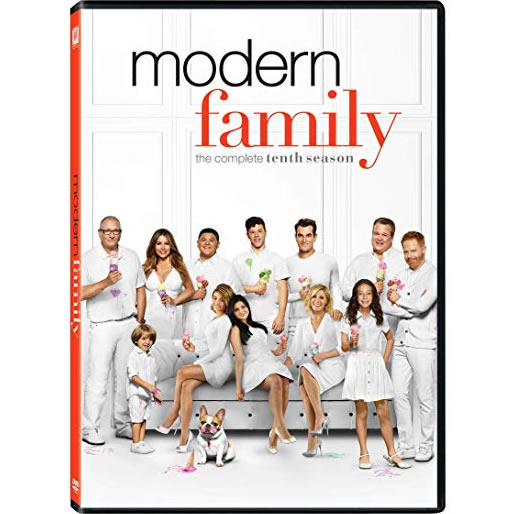 DVD sales uk modern family season 10
