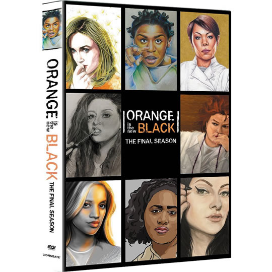 DVD sales uk orange is the new black season 7