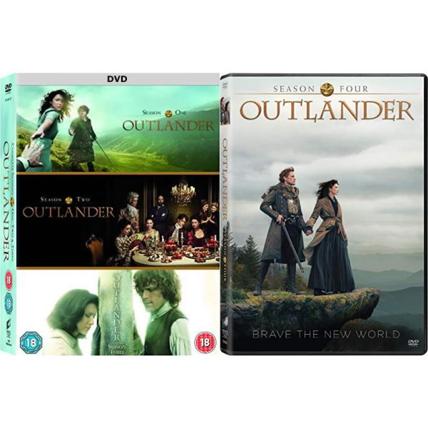 DVD sales uk outlander season 1-4