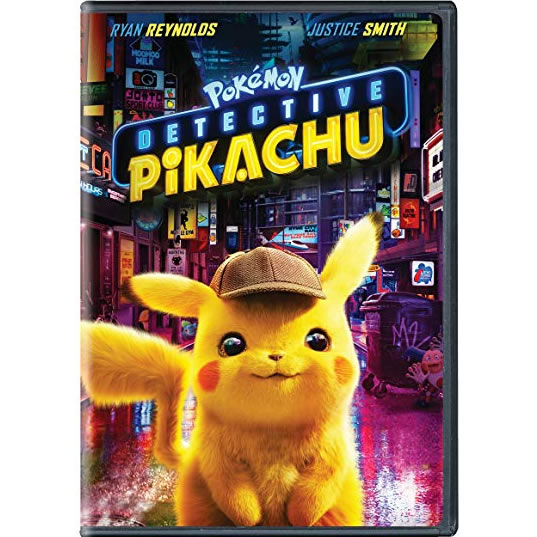 dvd sales uk pokemon detective pikachu on dvd