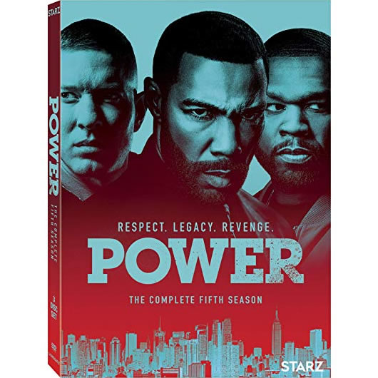 DVD sales uk power season 5