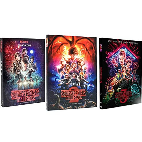 DVD sales uk stranger things season 1-3