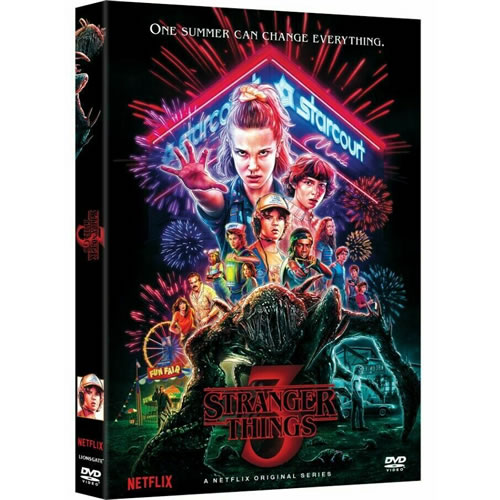 DVD sales uk stranger things season 3