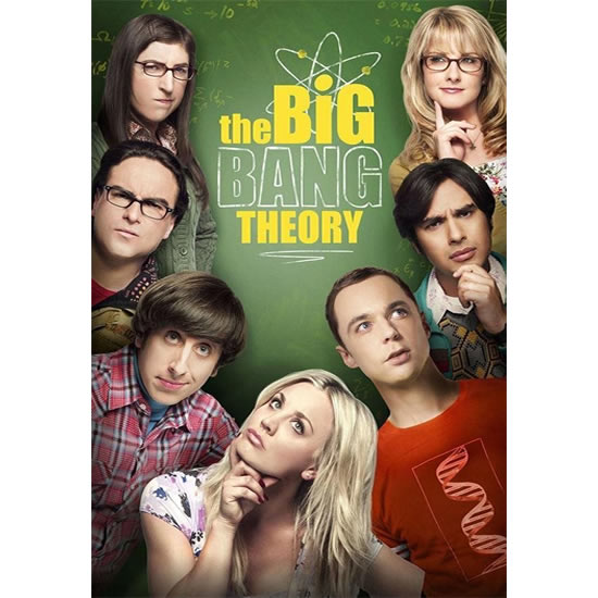 DVD sales uk the big bang theory season 12