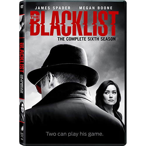 DVD sales uk the blacklist season 6