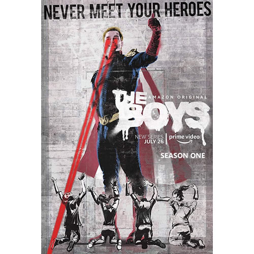 DVD sales uk the boys season 1