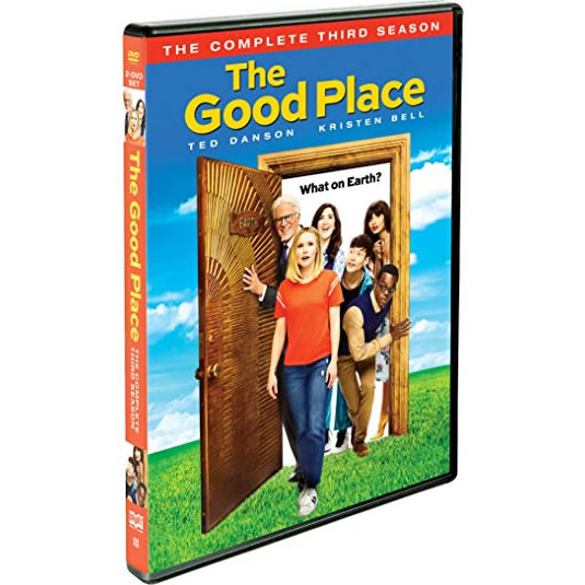 DVD sales uk the good place season 3