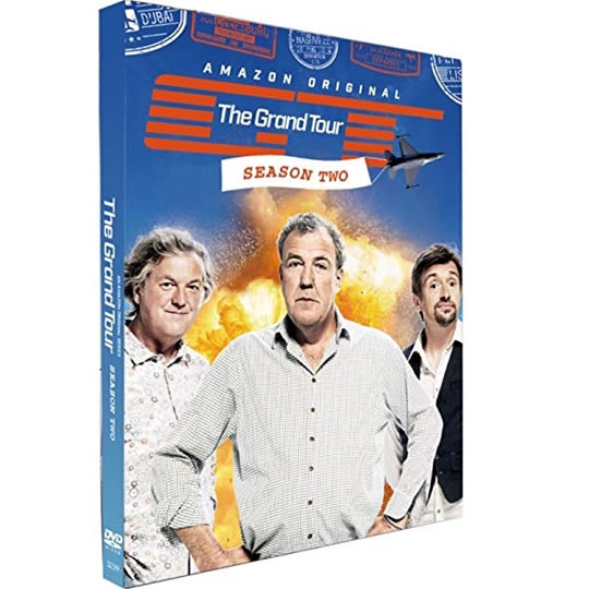 DVD sales uk the grand tour season 2