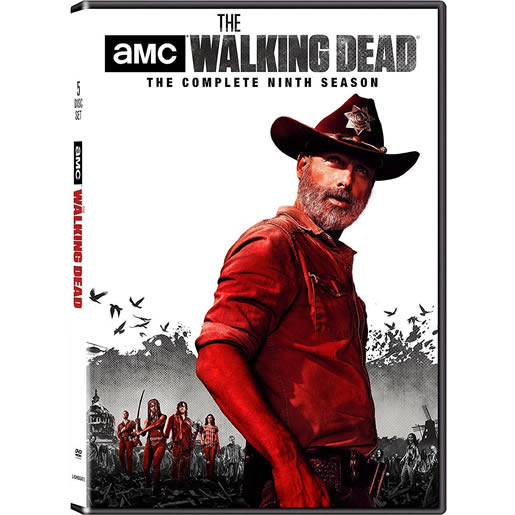 DVD sales uk the walking dead season 9
