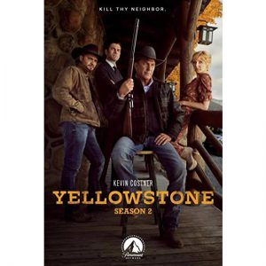 DVD sales uk yellowstone season 2