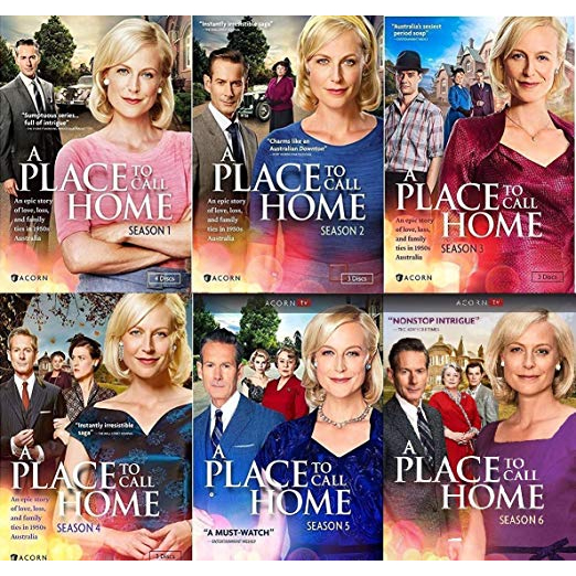 DVD sales uk a place to call home season 1-6