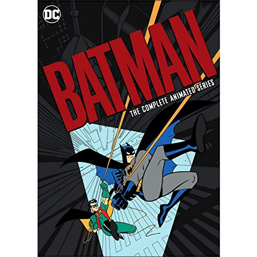 anime dvd uk batman: the complete animated series