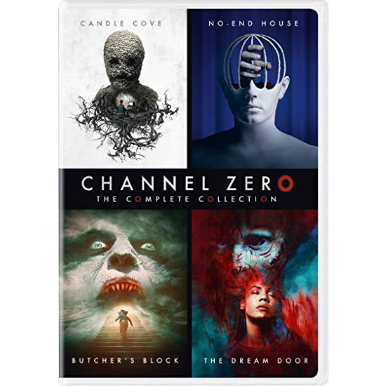 DVD sales uk channel zero season 1-4