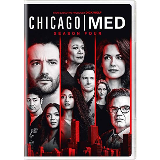 DVD sales uk chicago med season 4
