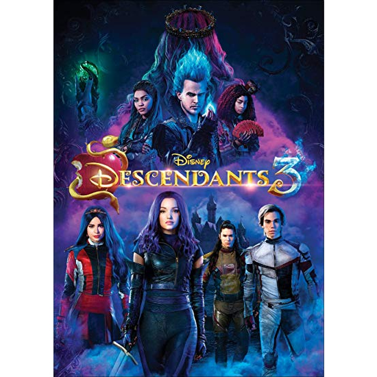 anime dvd uk descendants 3
